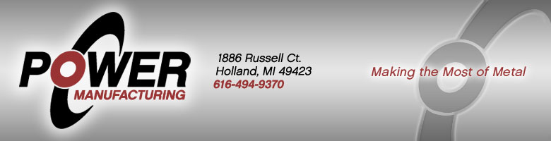 Power Manufacturing in Holland, Michigan